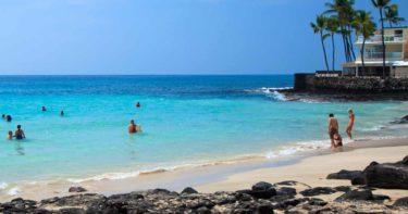 マジック・サンド・ビーチ(ホワイト・サンド・ビーチ) » 砂浜が消えちゃう!? / ハワイ島 カイルア・コナ