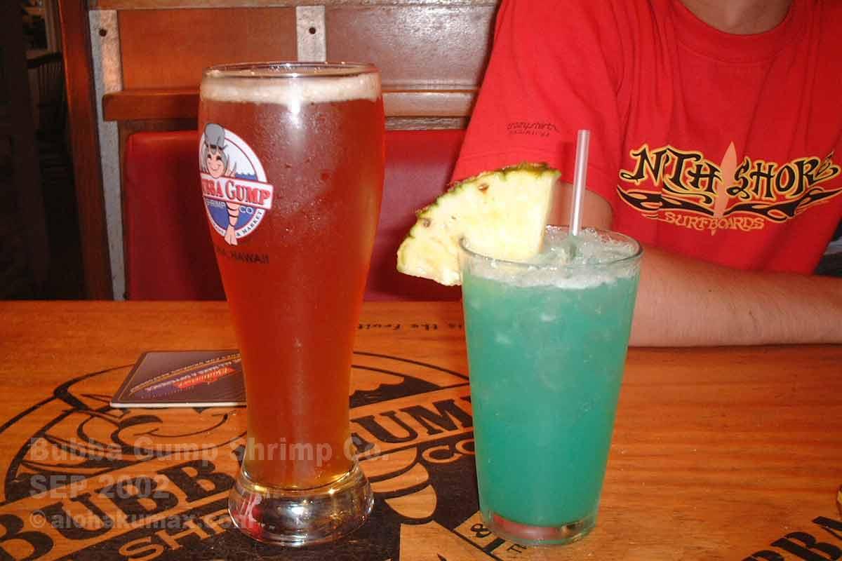 ビール&ママズ・ブルー・ハワイアン