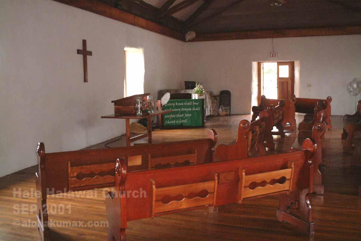 温もりのある教会内