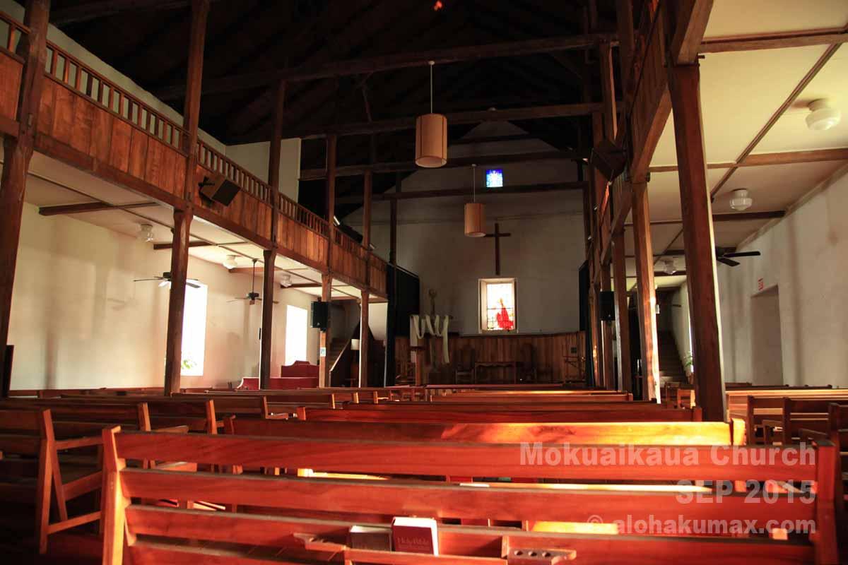 少し薄暗い聖堂