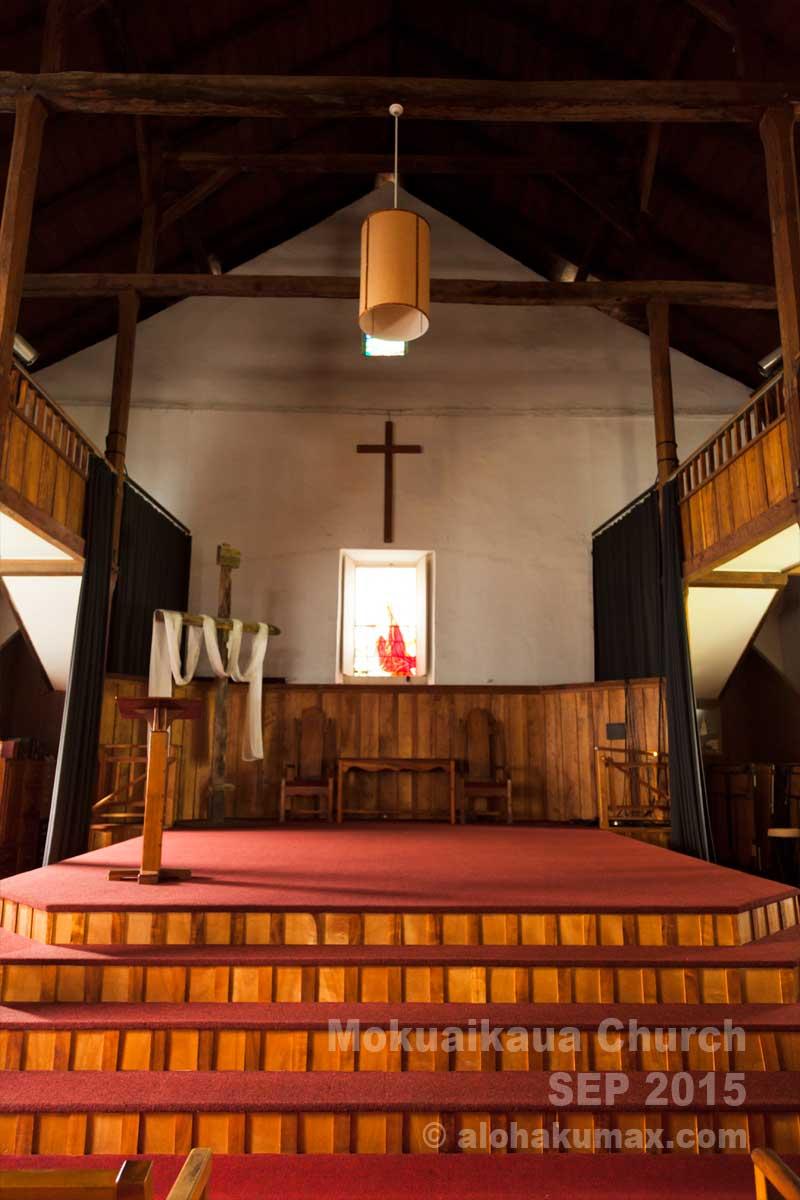 聖堂内 その1 祭壇