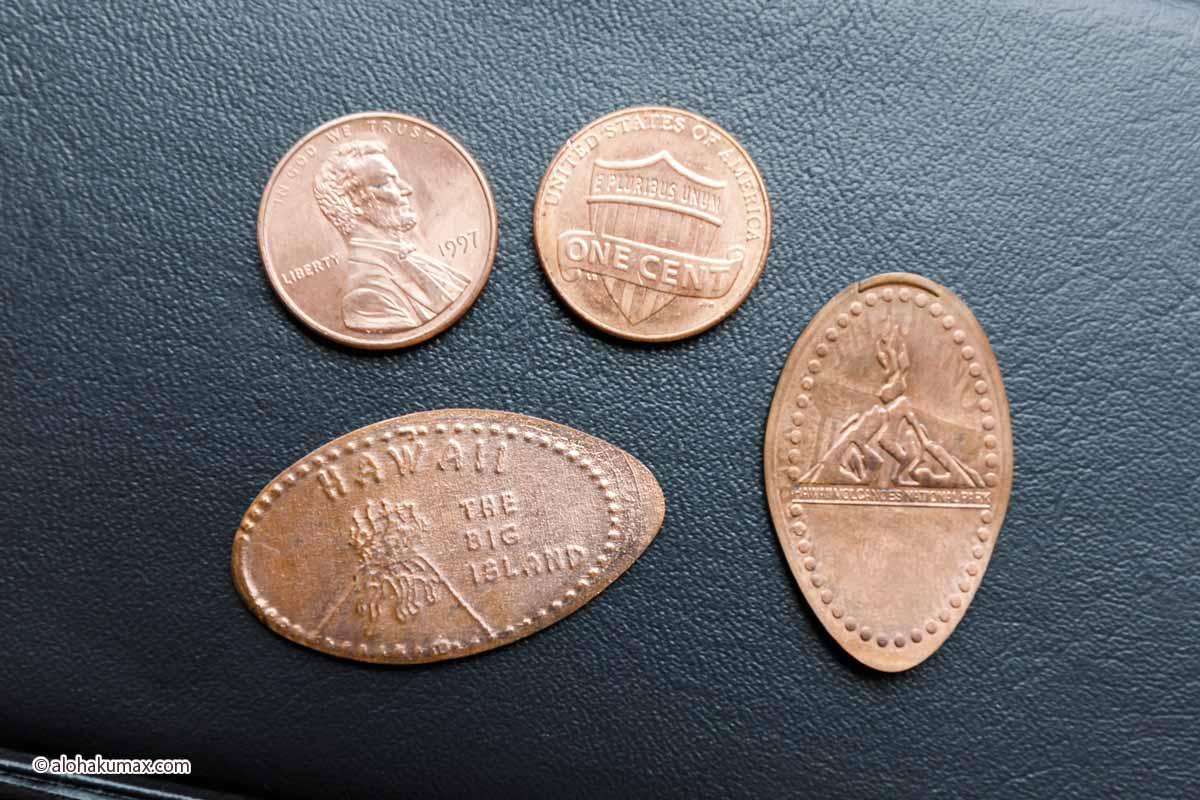 ペニーとスーベニアメダル