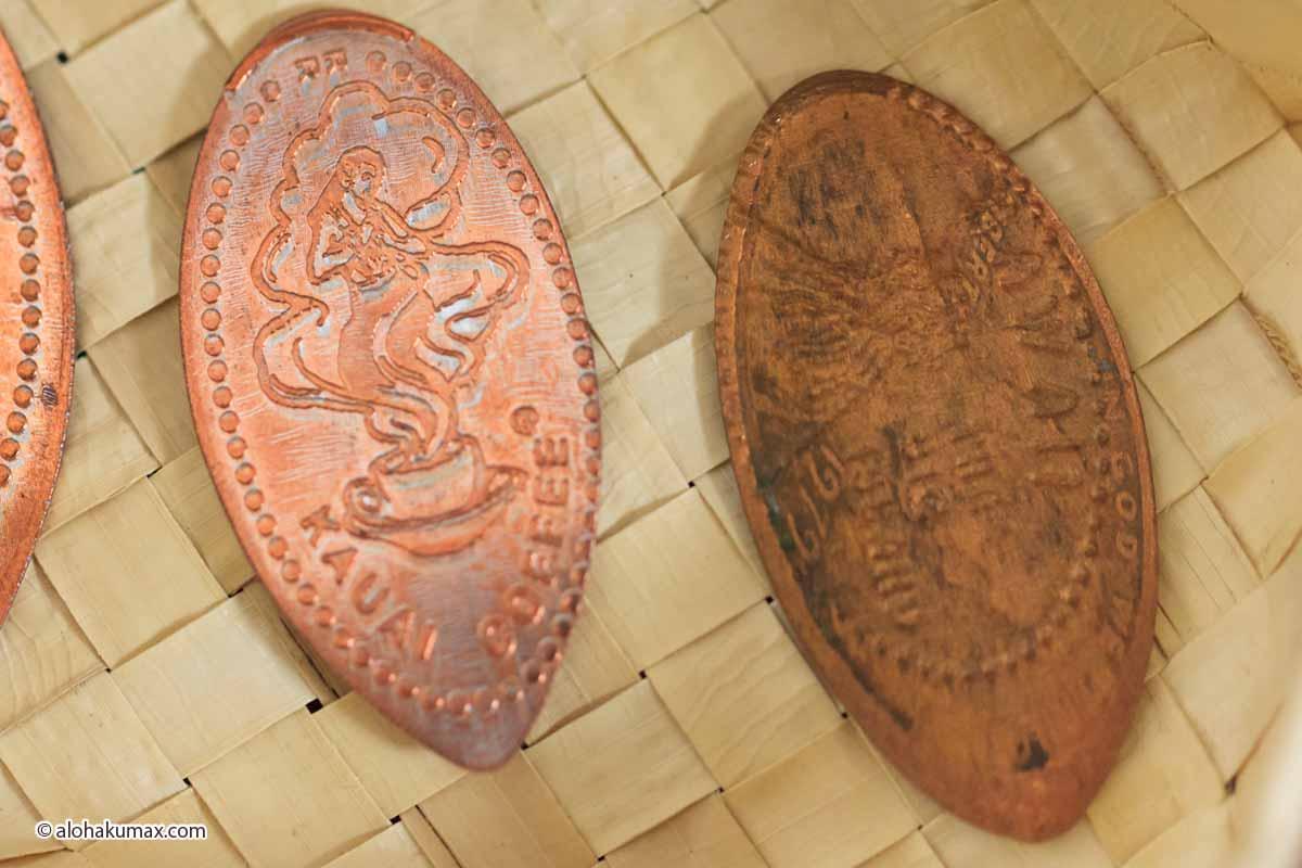 左:綺麗なペニーを使用 / 右:汚れたペニーを使用