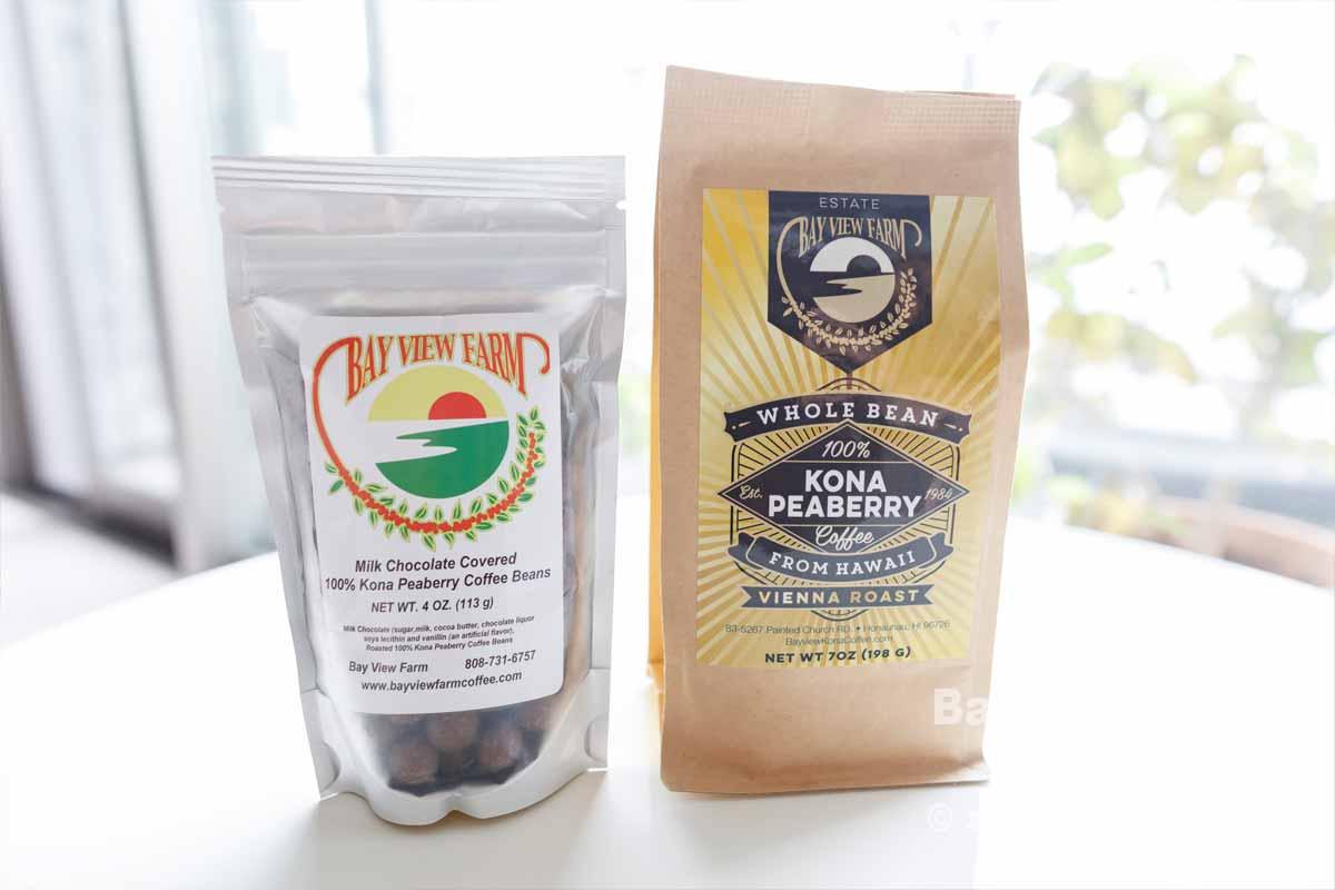 コーヒー豆のチョコ & ピーベリー