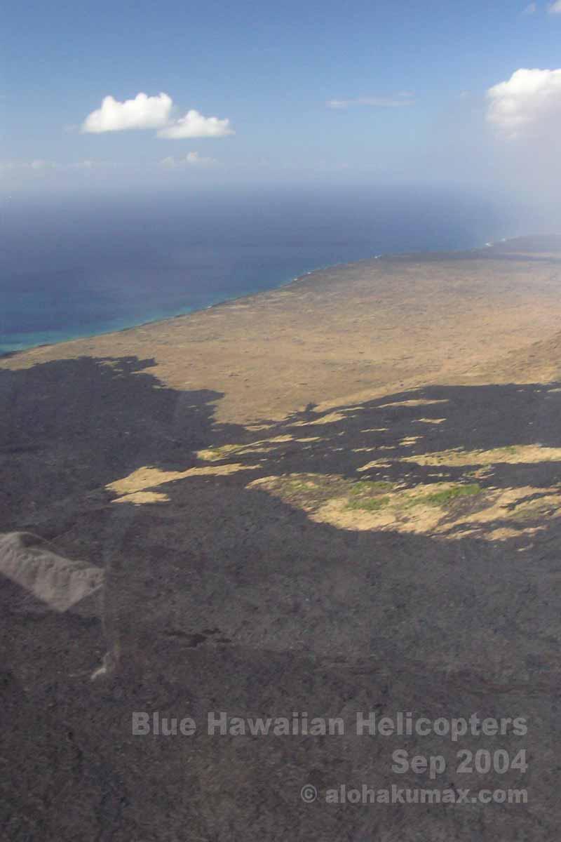 キラウエア火山のVOG