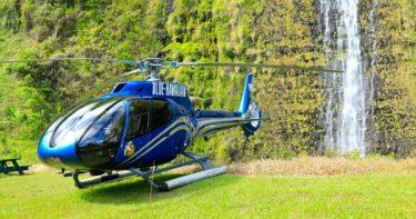 ブルー・ハワイアン・ヘリコプターズ ハワイ島一周+滝着陸(2017年7月) » ドキドキの滝着陸! / オプショナルツアー