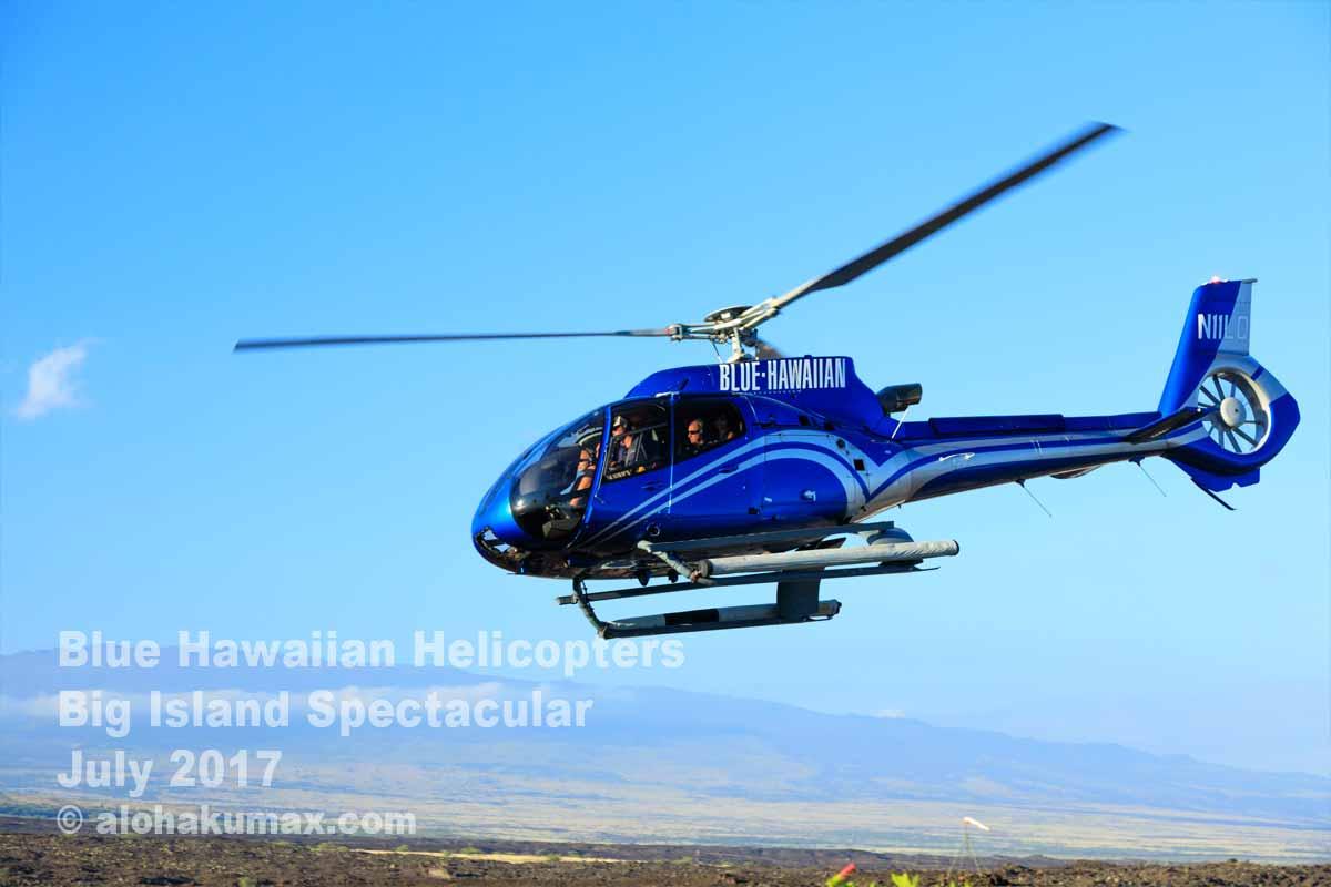 飛び立つヘリコプター