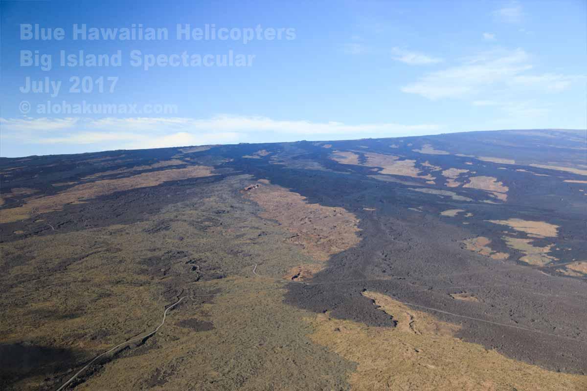 マウナ・ロアの溶岩