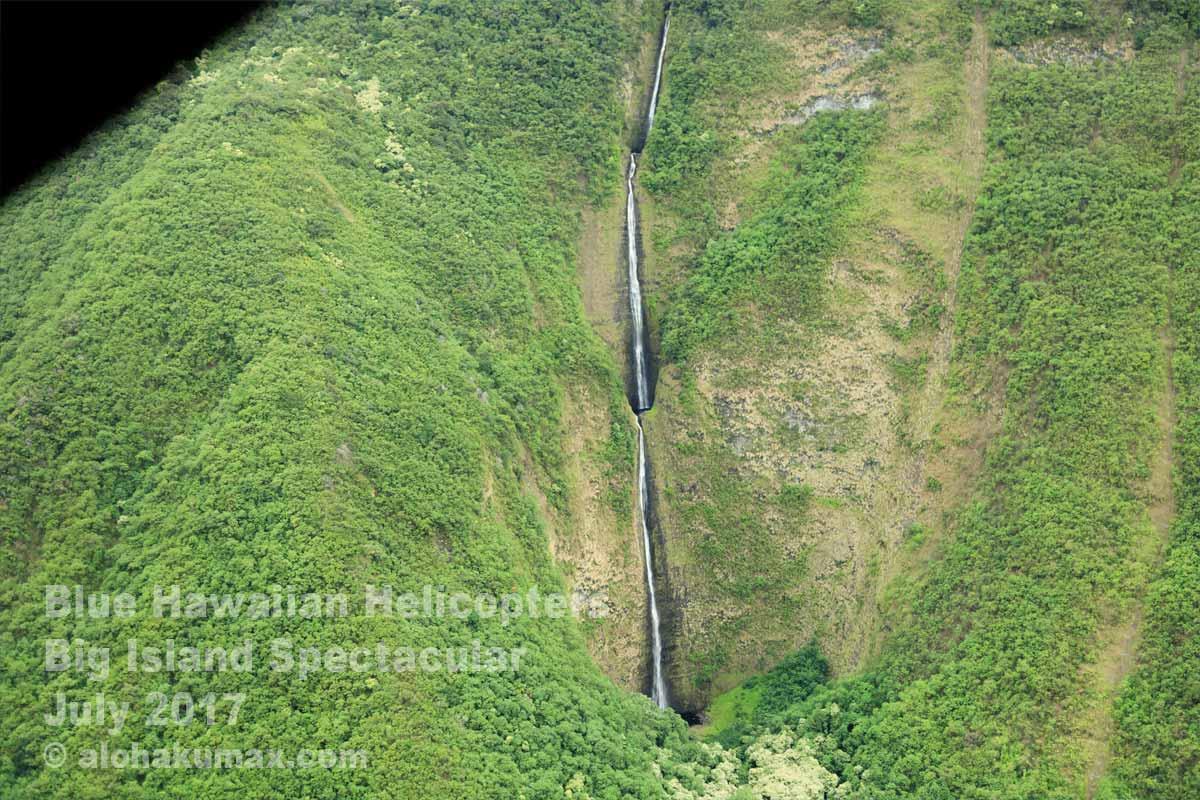 ワイマヌ渓谷のワイイリカヒ滝 その1