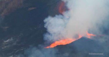 ブルー・ハワイアン・ヘリコプターズ ヒロ発 キラウエア火山(2018年7月) » 歴史的噴火を見た! / ハワイ島 オプショナルツアー