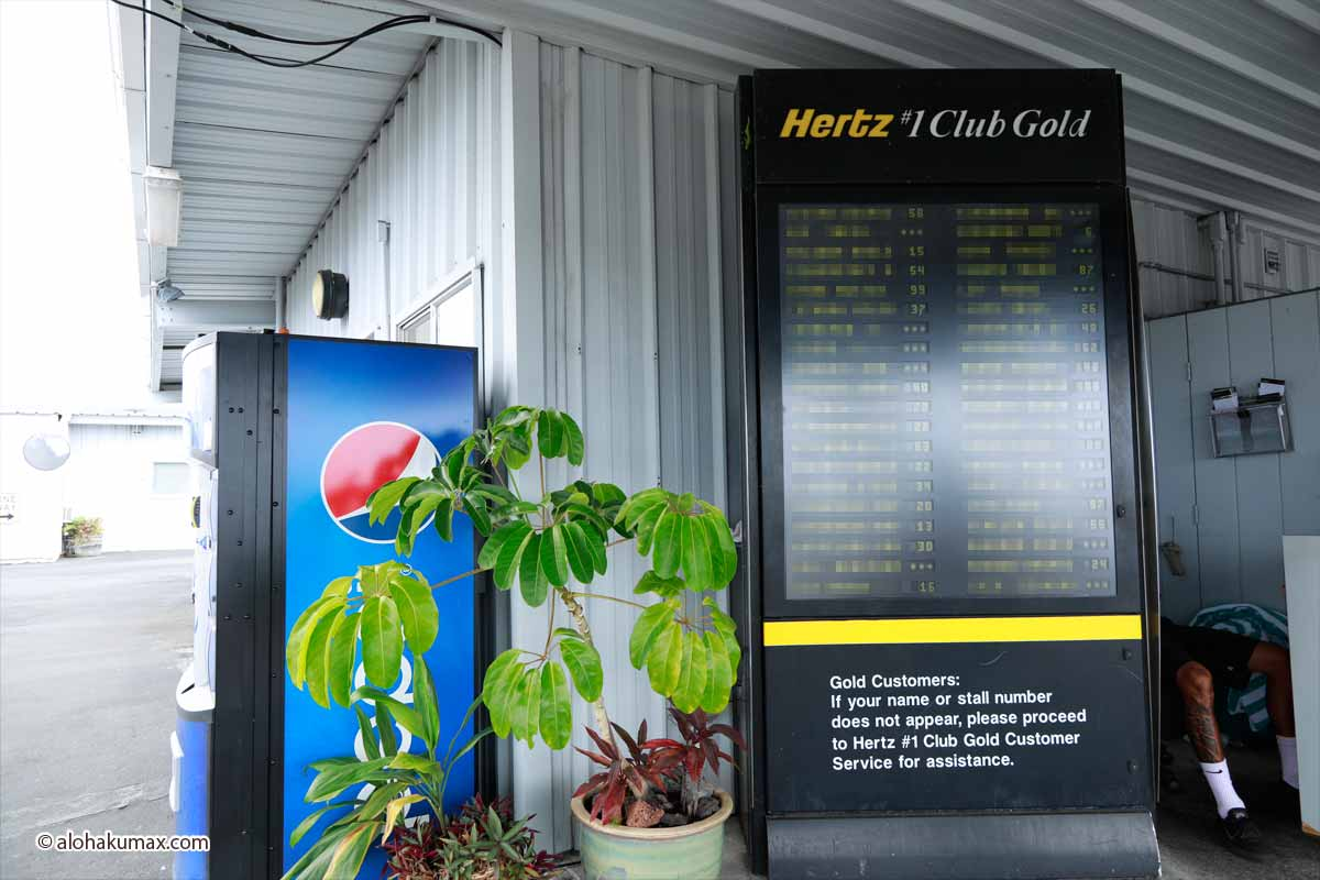 ハーツの電光掲示板