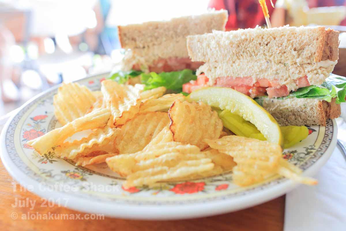 チキンサラダ・サンドイッチ