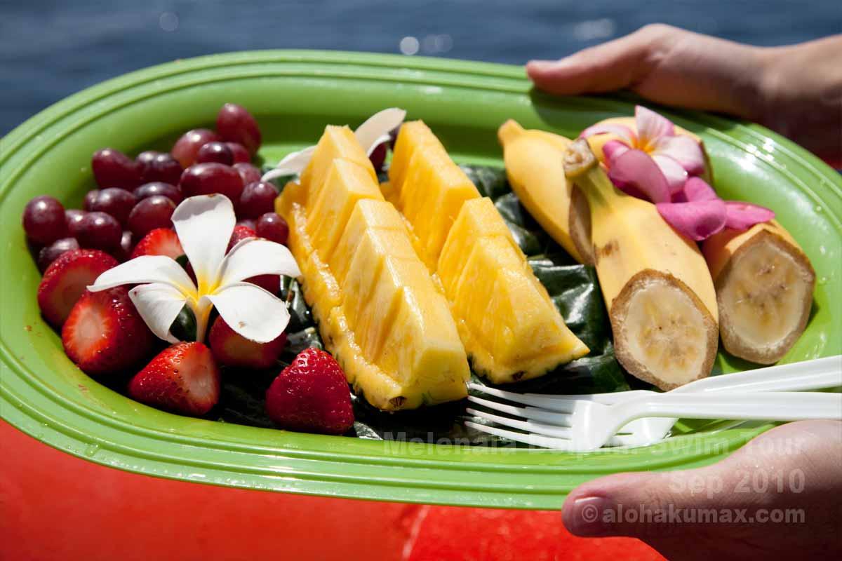フルーツのおもてなし