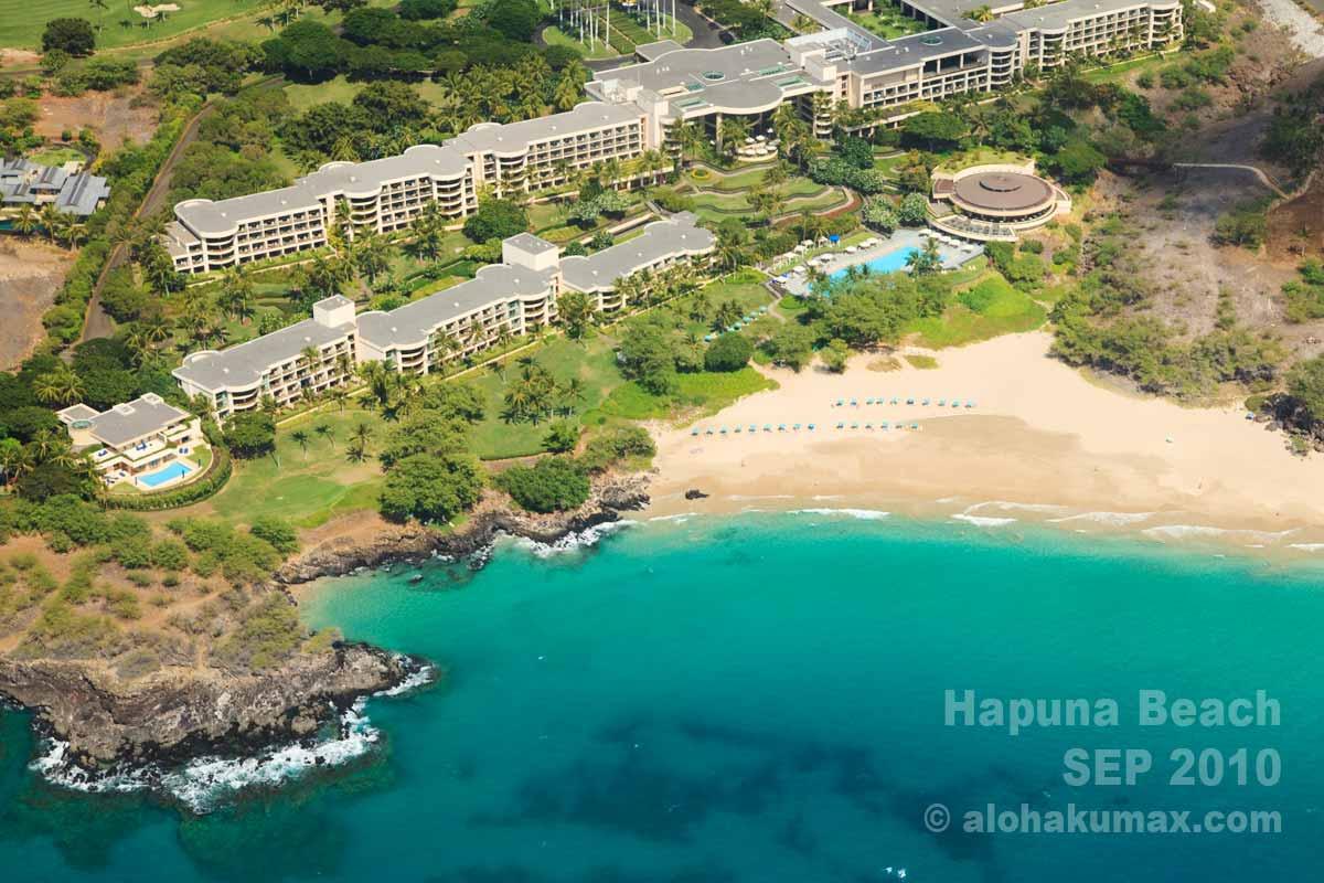 ハプナビーチとハプナビーチプリンスホテル(2010年9月)