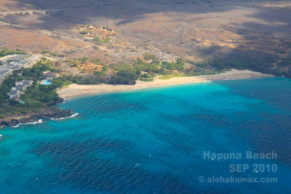 広いハプナビーチ