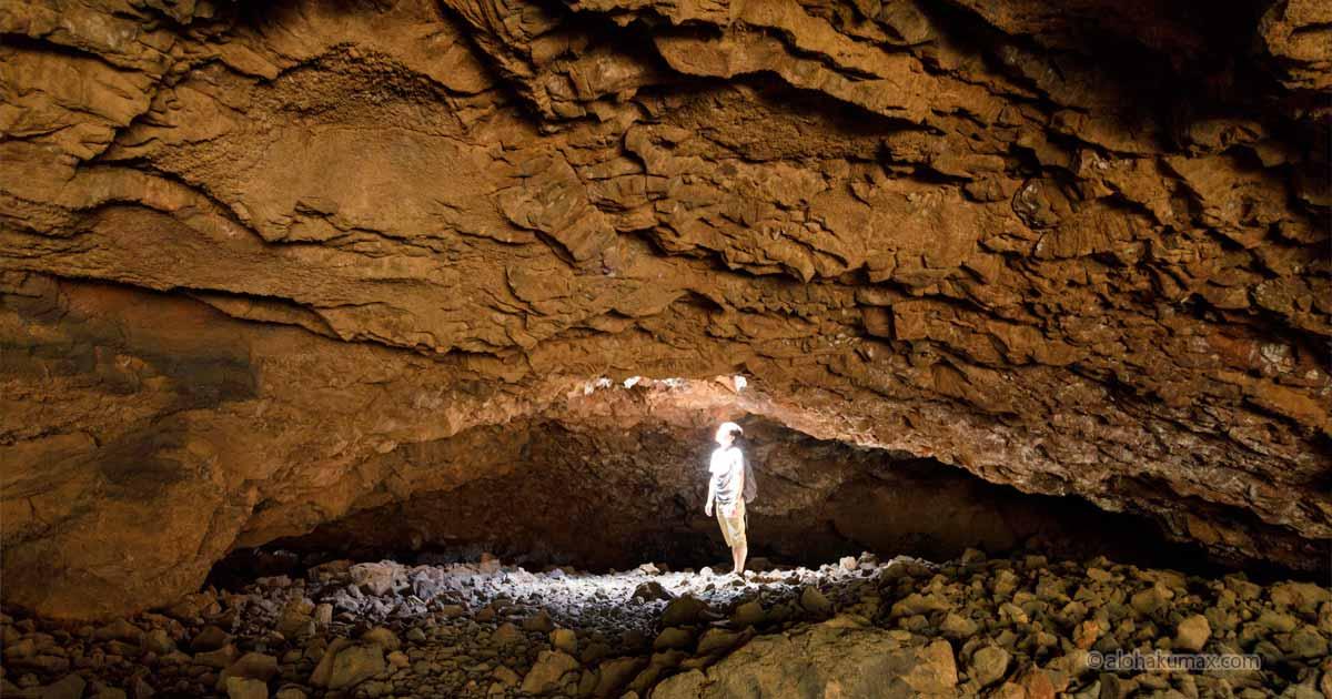オーラが見える洞窟