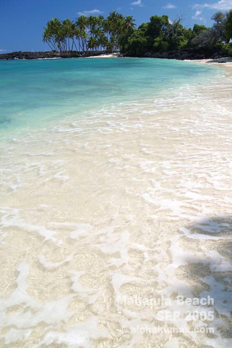美しい波打ち際