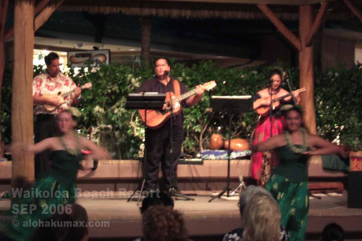 ハワイアンミュージックのライブ