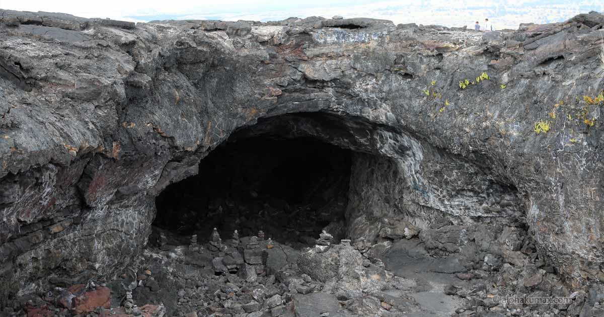 ラバチューブ(溶岩トンネル)