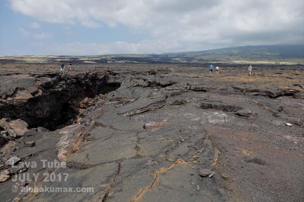 キラウエア火山的景色