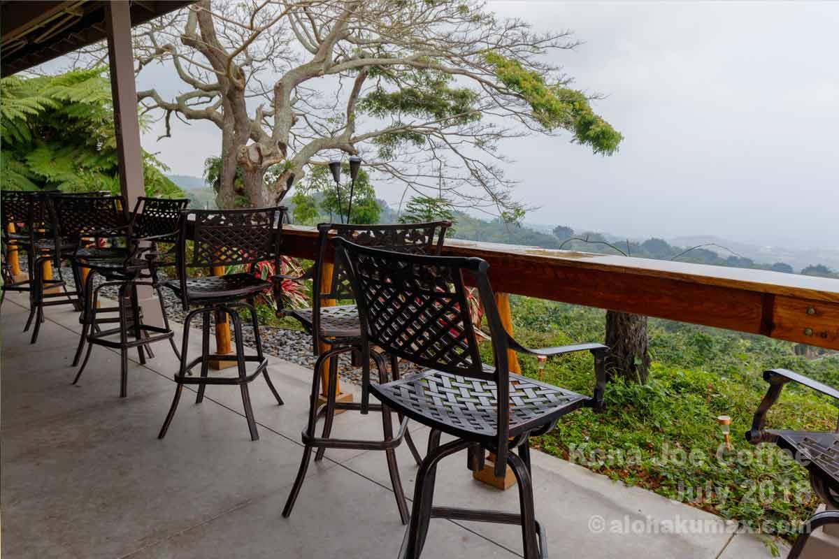 絶景を眺められるテーブル