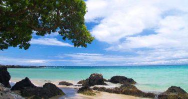 マウナ・ケア・ビーチ(カウナオア・ビーチ) » 三日月型の砂浜が美しい / ハワイ島 マウナ・ケア・リゾート