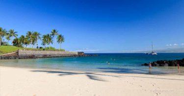 マウナ・ラニ・ビーチ・クラブ » 美しいプライベートビーチでのんびり / ハワイ島 マウナ・ラニ・リゾート