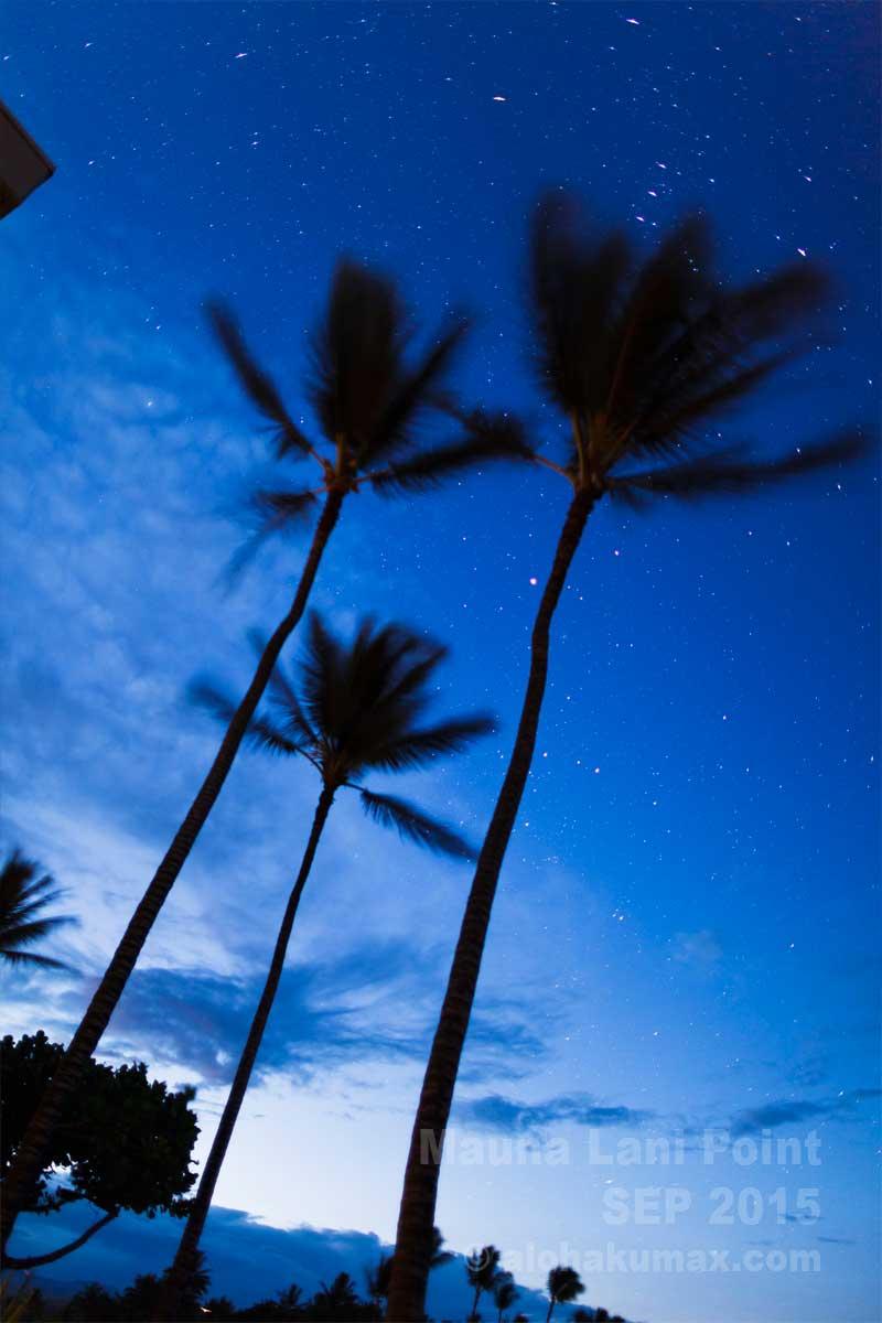明け方も早起きで星を楽しむ