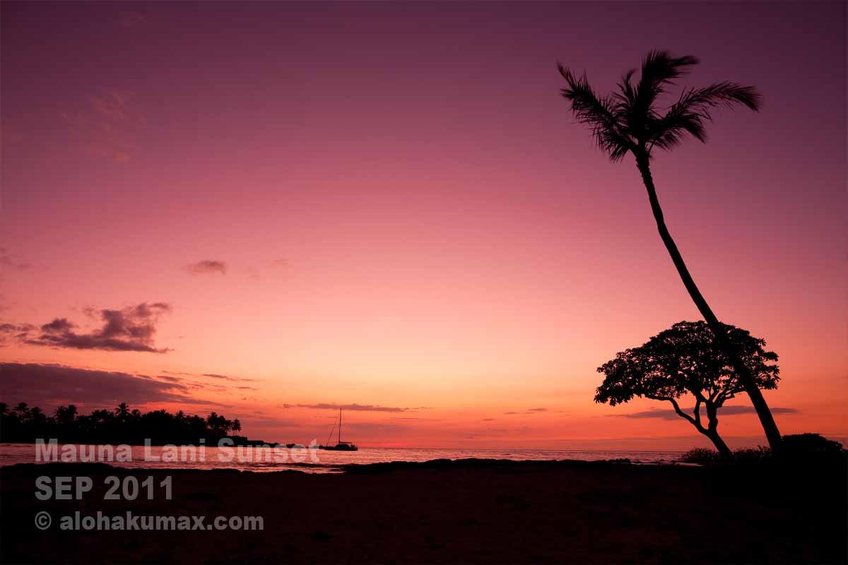 海越しの夕陽 その2