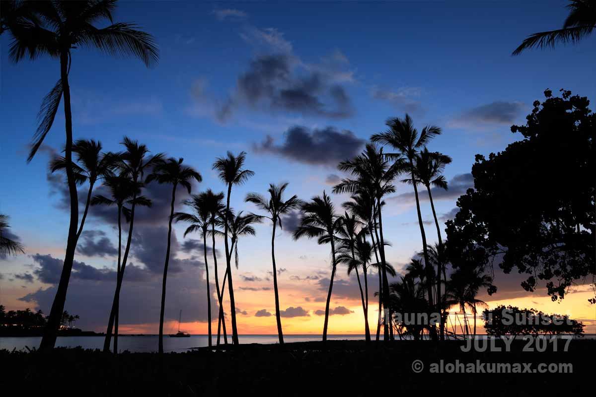 海越しの夕陽 その5