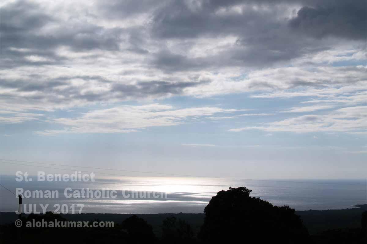 眼下に広がるホナウナウの海