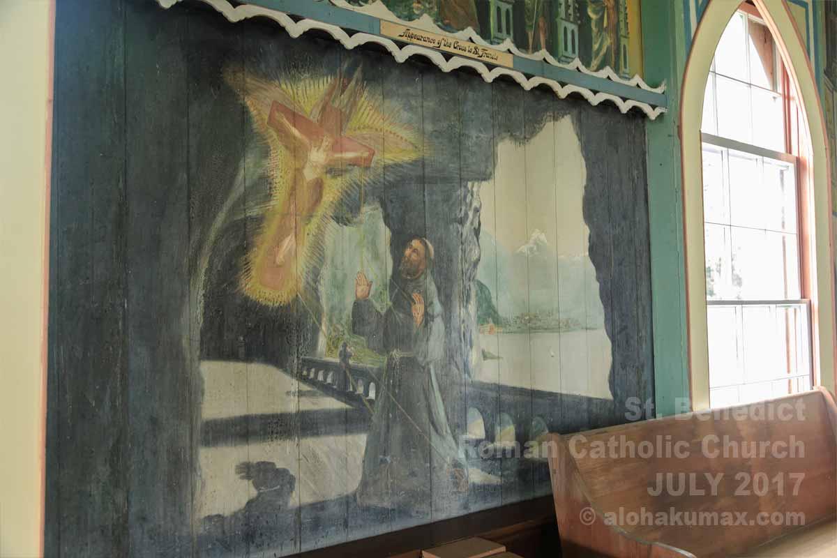 Appearance of the Cross to Saint Francis(聖痕を受ける聖フランチェスコ)