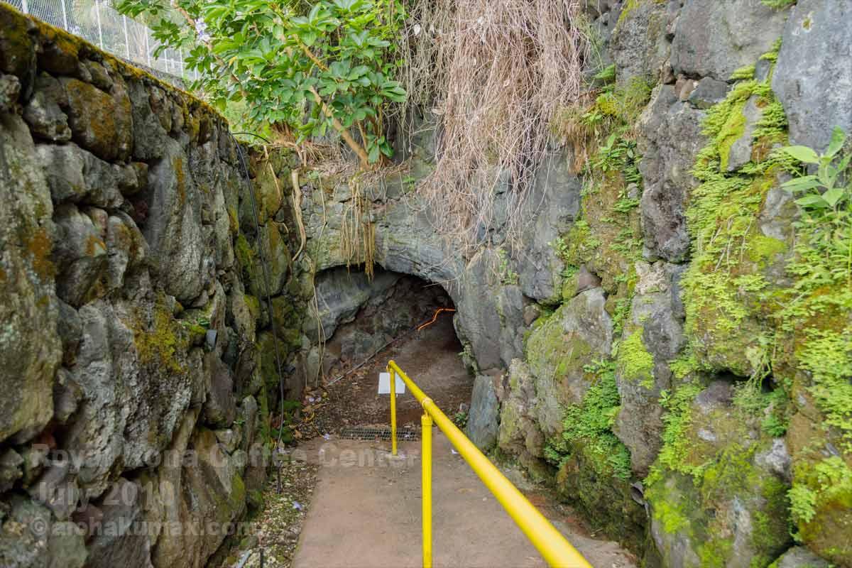 トンネル出口