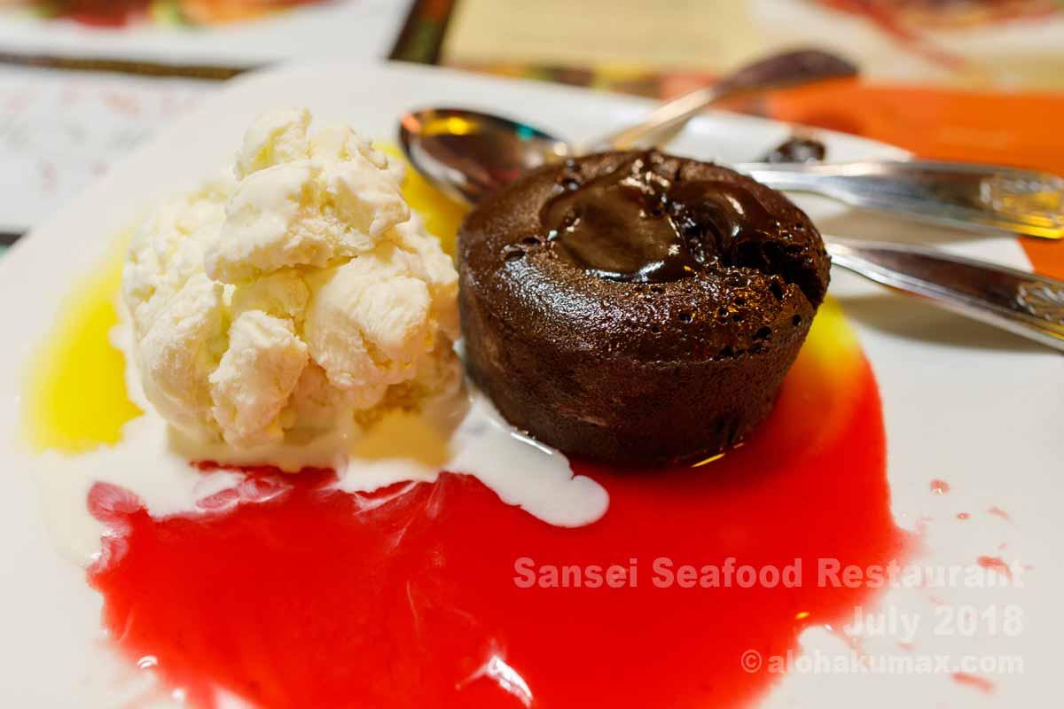 ウォーム・チョコレート・ファッジ・ラバ・ケーキ
