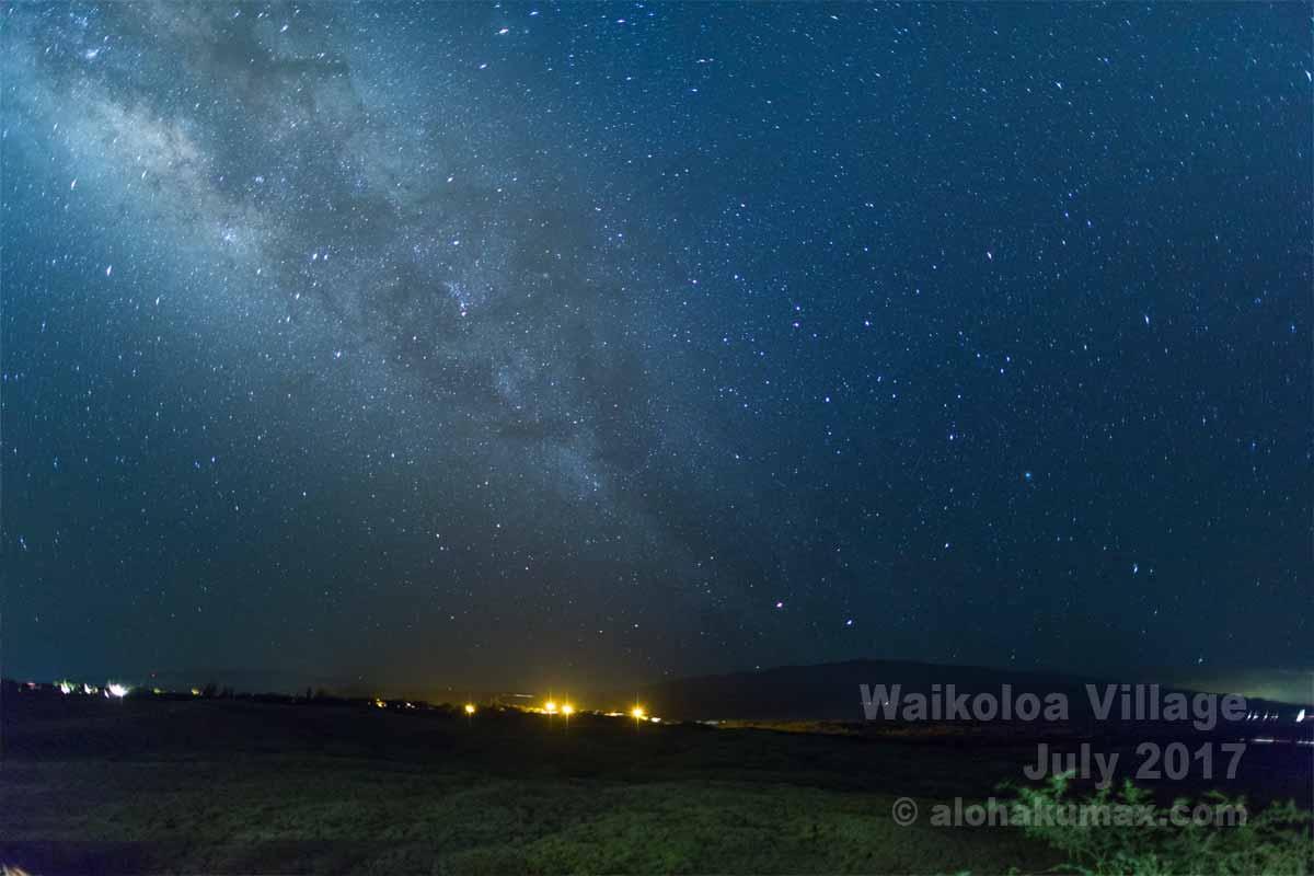 ワイコロア・ビレッジの星空