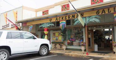 アッカーマン・ギャラリーズ » 力強いアート作品が並ぶショップ / カパアウ ハワイ島
