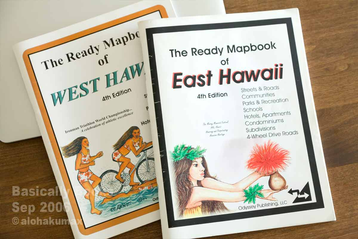 The Ready Mapbook of East (West) Hawaii