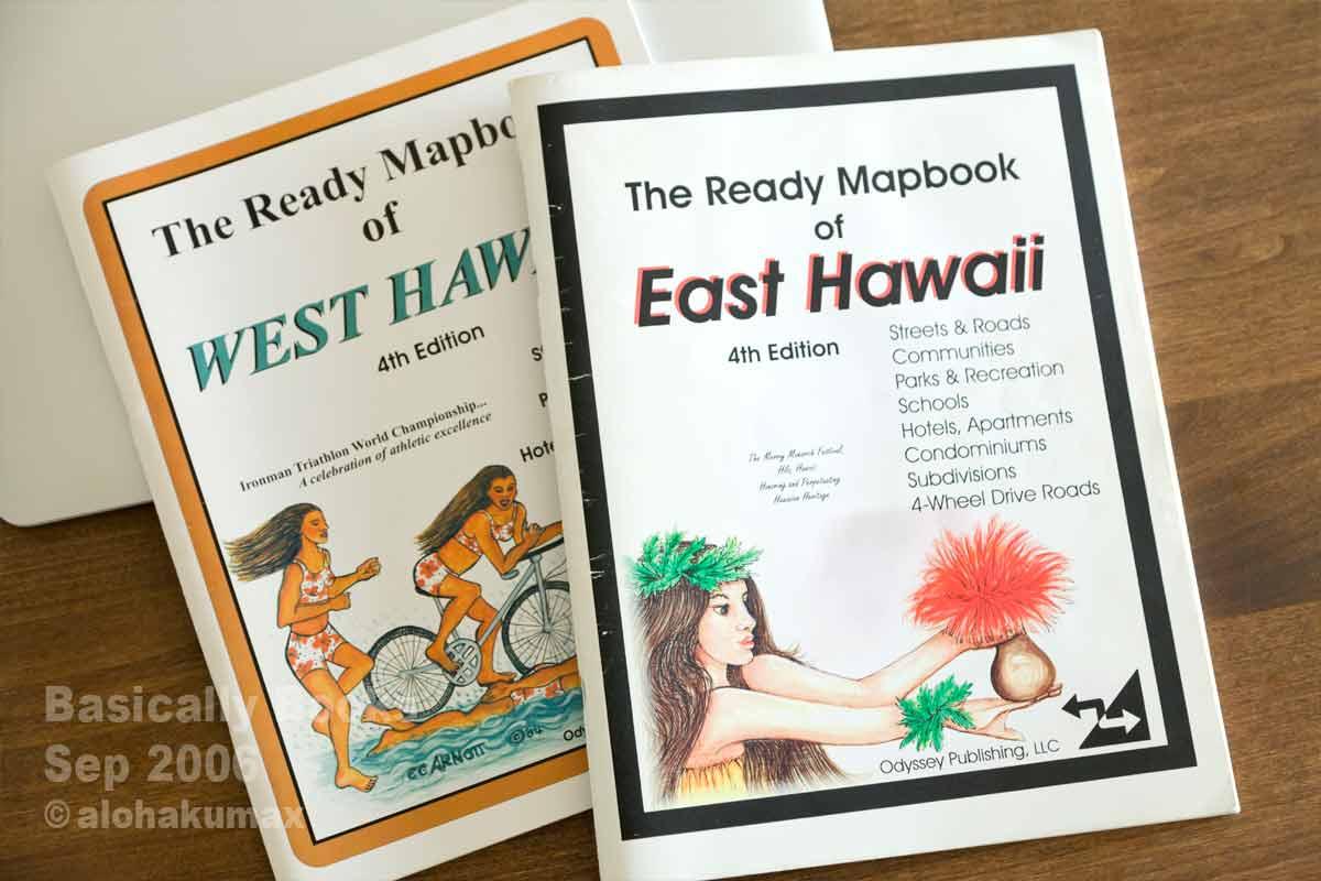 The Ready Mapbook of East (West) Hawaii