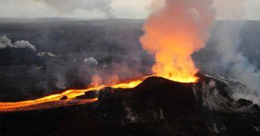 レイラニエステイトの噴火