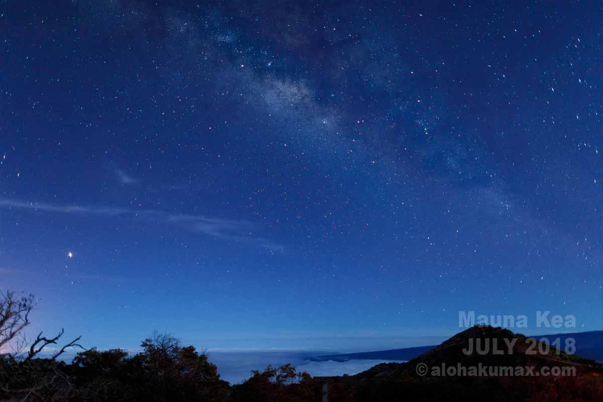 オニヅカセンターにて星空観測