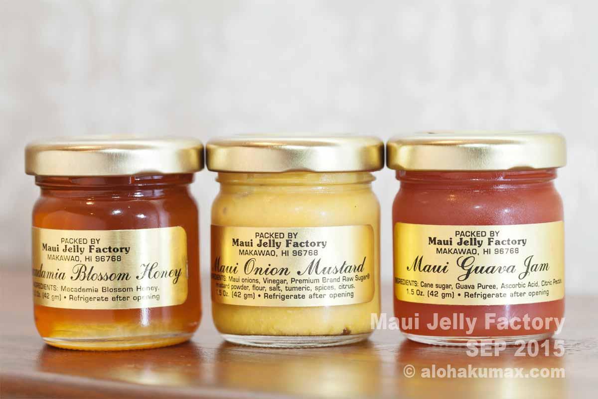 蜂蜜&マスタード&グアバジャム