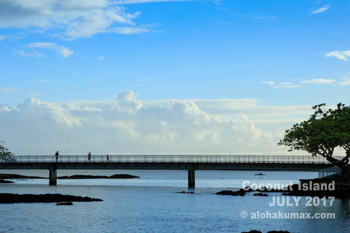 島に架かる橋