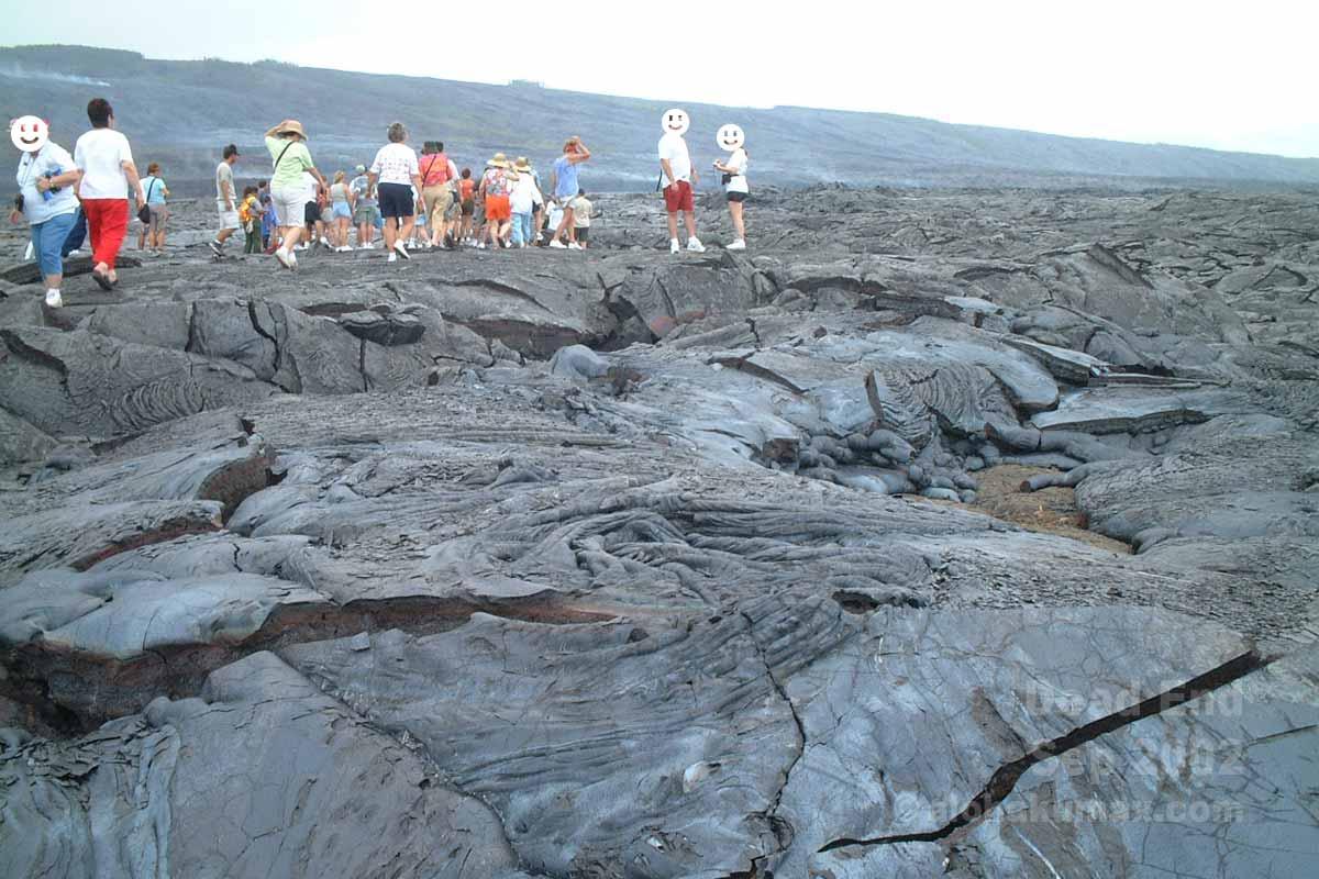 新しい溶岩