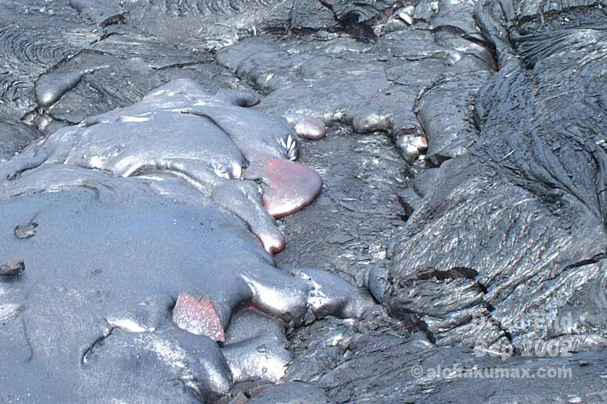 ドロドロ溶岩