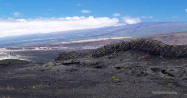 1974年7月の割れ目噴火口
