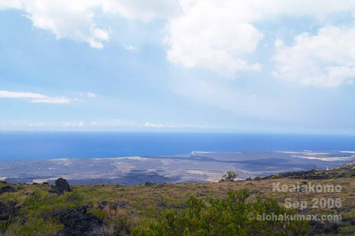 ケアラコモ展望台からの眺め