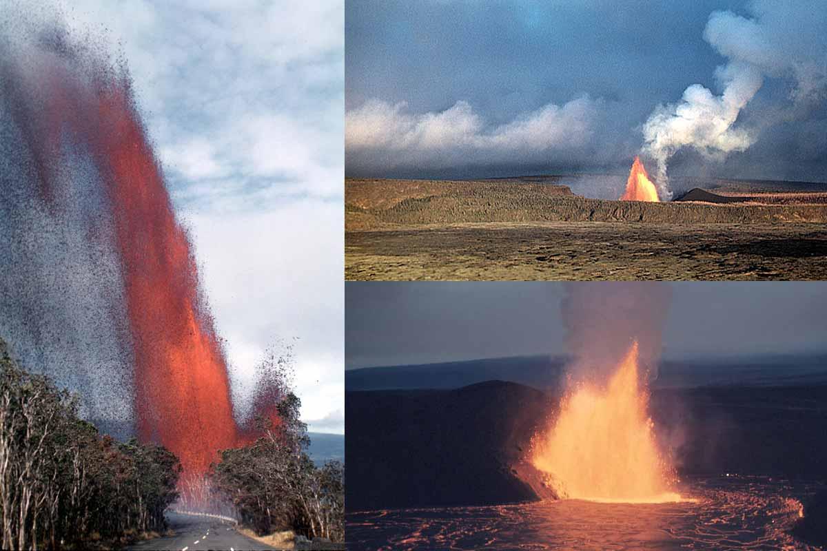 キラウエアイキの噴火