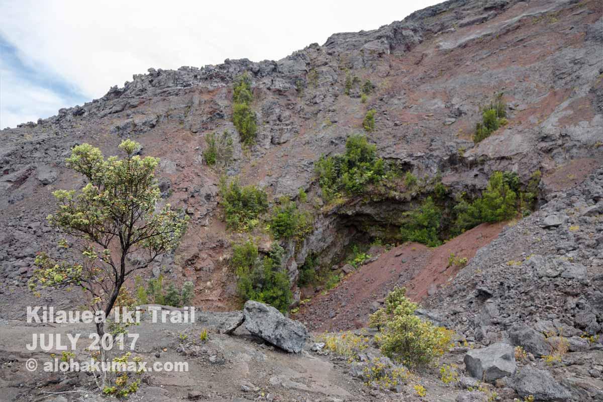 プウプアイの噴火口