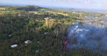 レイラニ・エステート » 2018年、住宅街から突如噴火 / ハワイ島