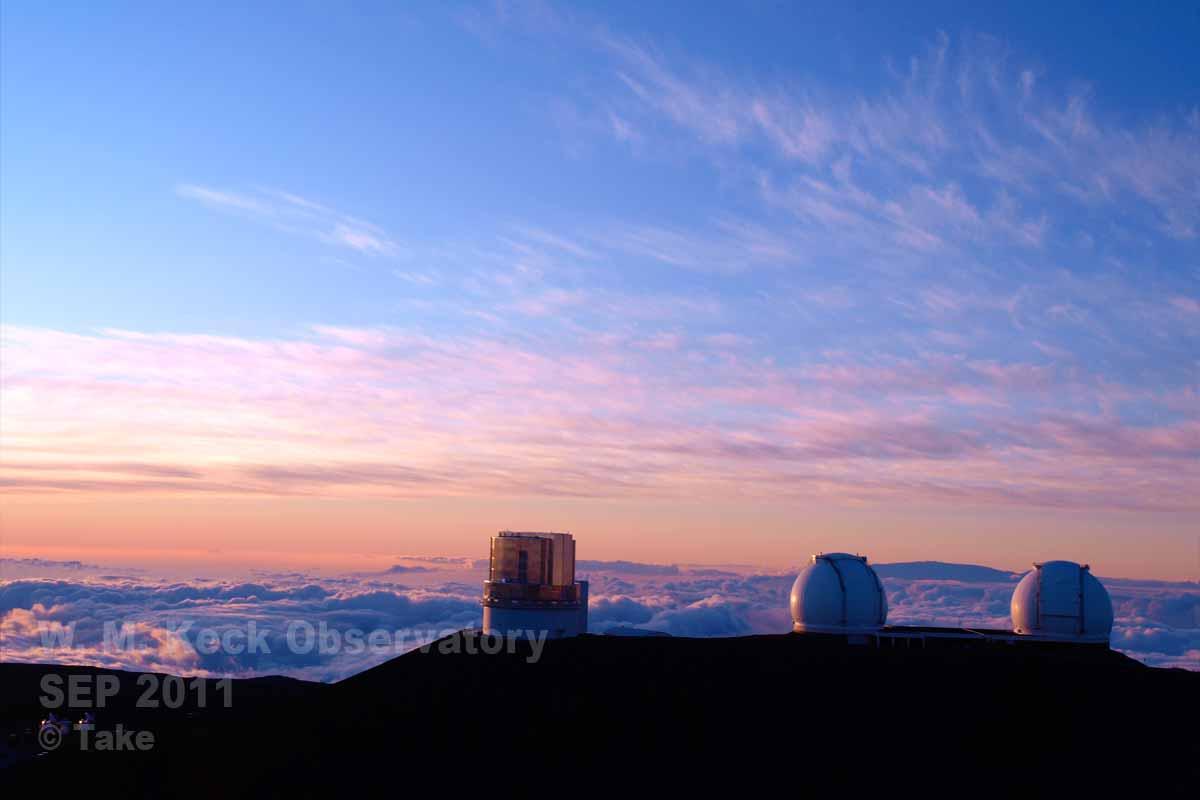 すばる望遠鏡とW.M.ケック天文台